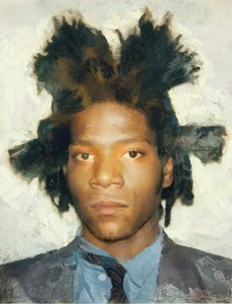 Jean-Michel Basquiat par baudet